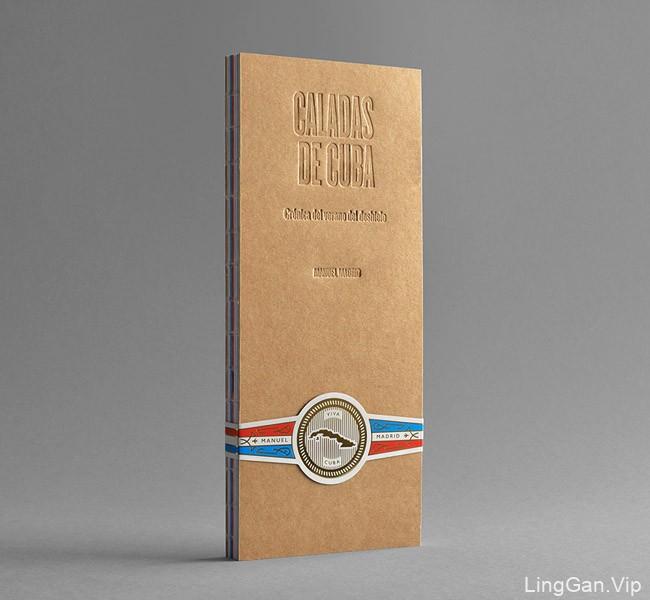 国外Caladas de Cuba旅游记事书籍设计