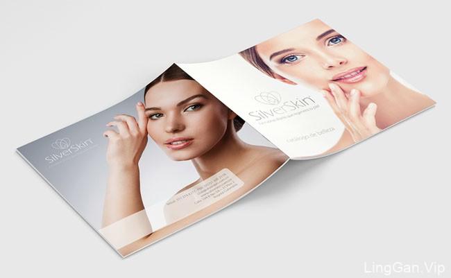 国外SilverSkin化妆品品牌画册设计