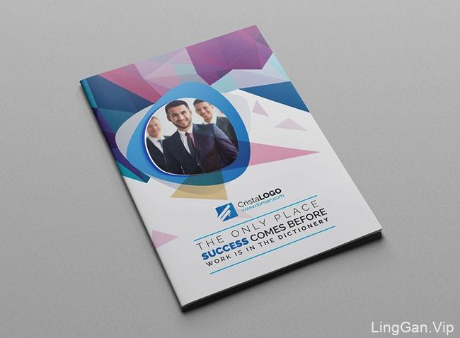 国外Mohammad企业画册模版设计