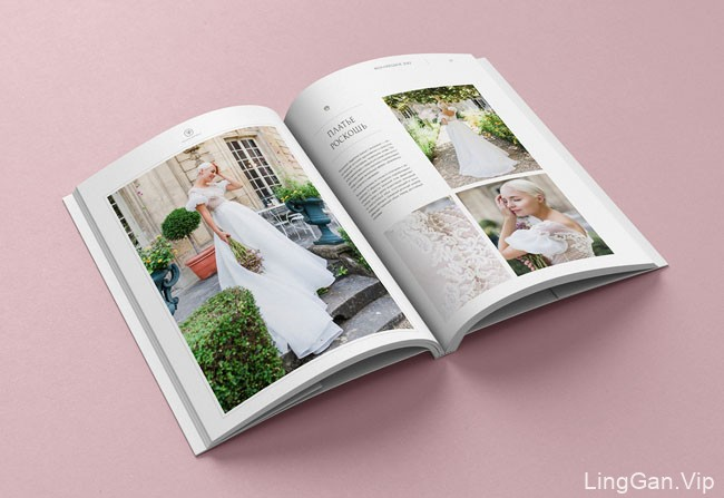 Natasha Bovykina手工婚纱礼服品牌画册设计