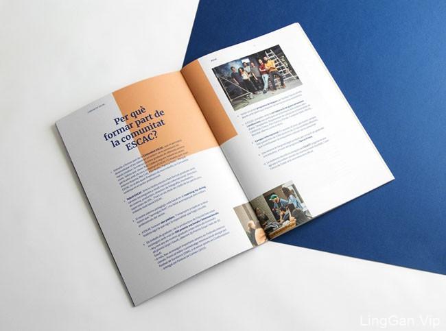 Escacy影音学校招生手册设计