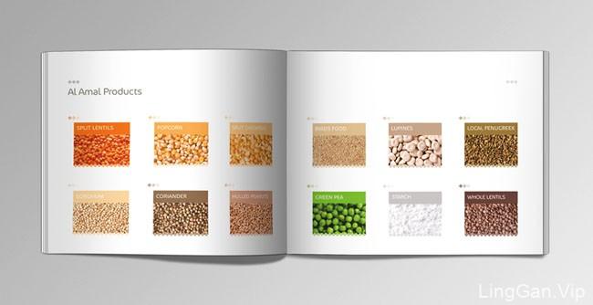 Al Amal农作物品牌目录画册设计