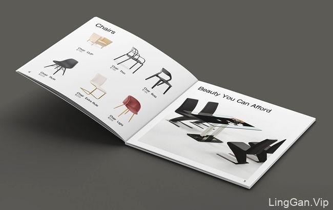 Richwood家具品牌画册设计欣赏