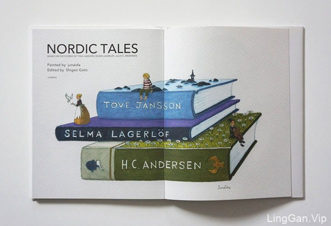 NORDIC TALES书籍设计与插图