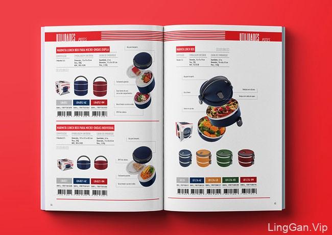 Euro Home家居用品品牌目录画册设计