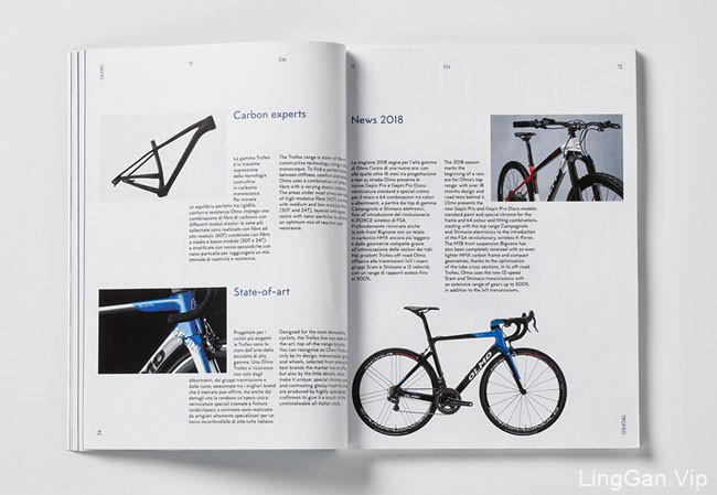 Olmo bikes高级自行车品牌宣传册设计