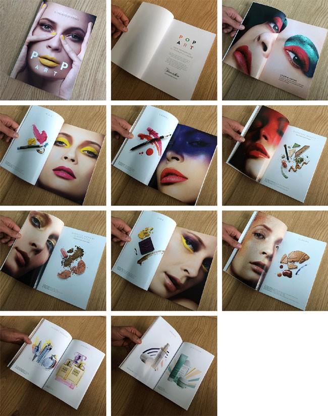 墨西哥Nahema Vivo时尚化妆品画册设计