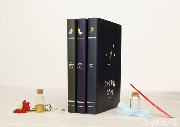加拿大Ashley Ringham简约风格儿童故事书籍封面设