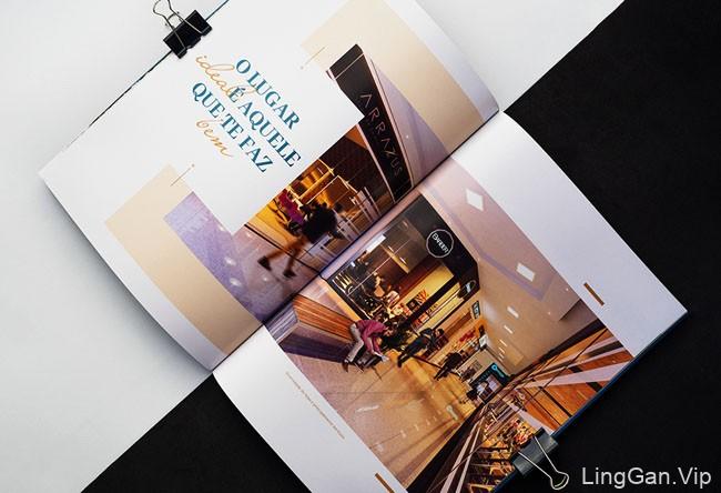 巴西River Mall购物中心宣传画册设计