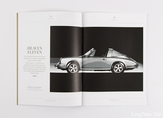 GalerieVoigt珠宝艺术杂志设计