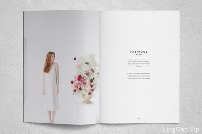 印尼Ahsanjaya Corp时尚画册模版设计NO.5