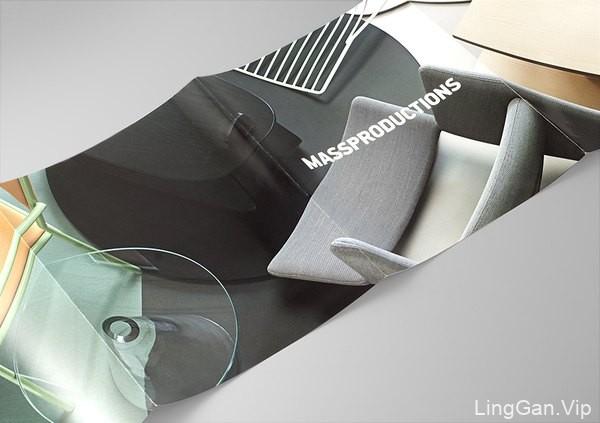 瑞典Massproductions家具公司画册设计