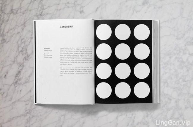 意大利面食几何学书籍设计