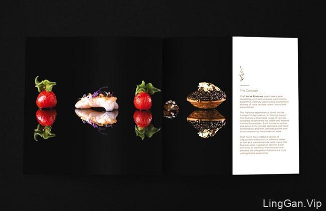 Mahonia酒店画册与菜单设计欣赏