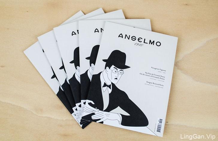 ANSELMO 1910珠宝店杂志设计作品