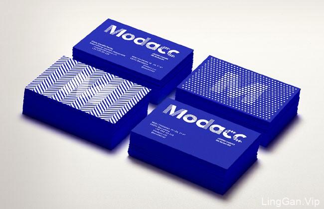 国外Modacc时尚与纺织协会视觉形象设计欣赏