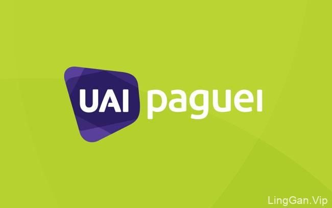 一套国外Uai Paguei支付品牌VI设计