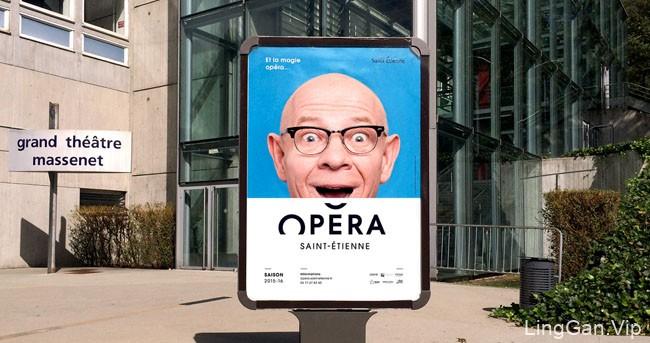 圣艾蒂安歌剧院全新视觉形象设计欣赏(一)