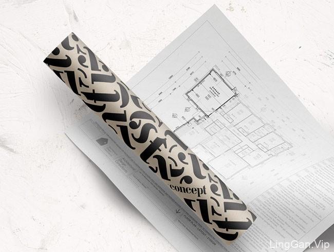新西兰设计师Forever After设计工作室VI设计作品