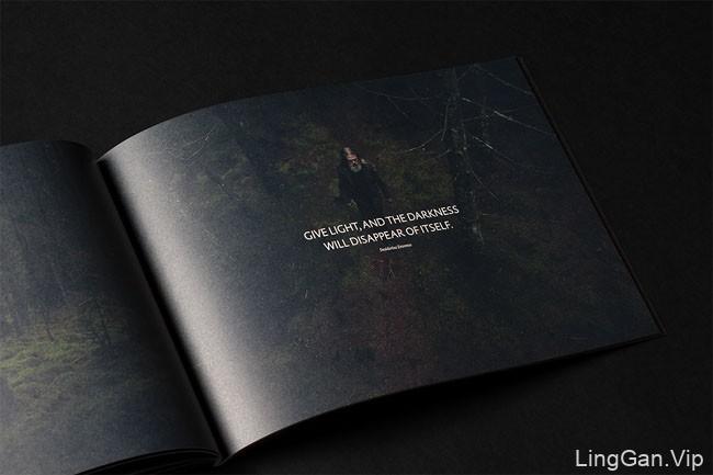 黑色经典VI设计:Bareksten酒品牌形象设计鉴赏