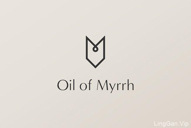 国外Oil of Myrrh没药油品牌VI设计欣赏