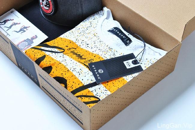 国外Dynamo青少年时尚服装品牌形象VI设计