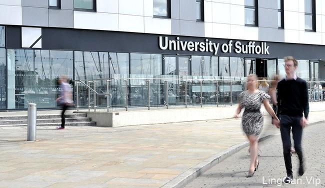 英国UniversityOfSuffolk大学视觉形象VI