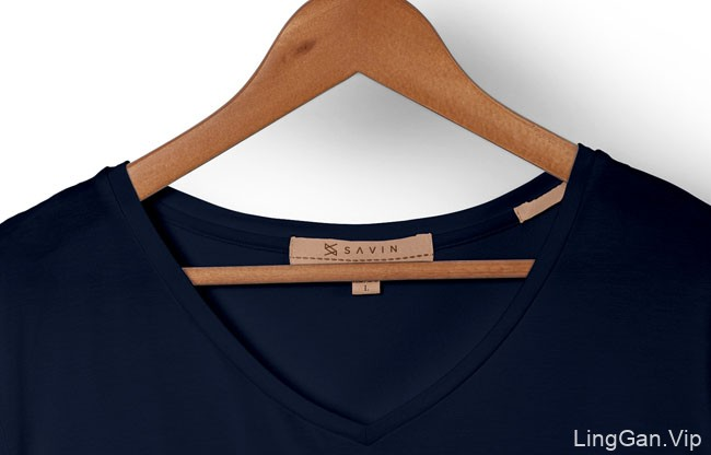 巴黎Savin时尚服装店品牌VI形象设计