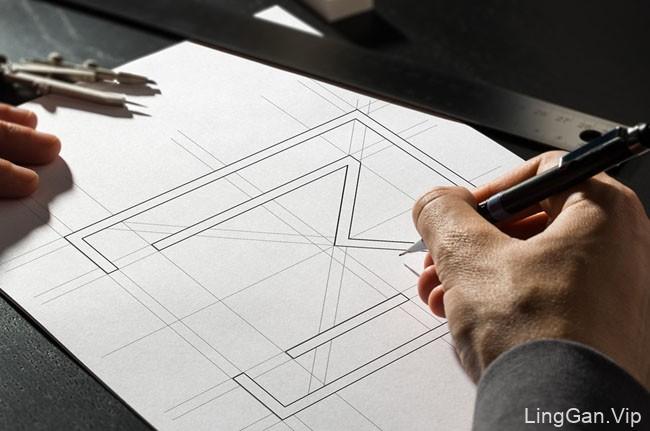国外Motifo室内设计公司VI设计作品完整设计图