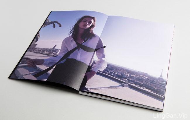 欧美风格的YSL美容Mon Paris主题时尚画册欣赏24P