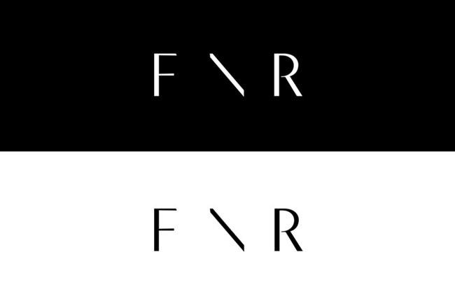 国外FRONTROWLondon在线服饰服务品牌形象VI设计