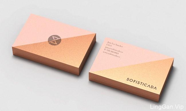 国外Sofisticada护肤品牌企业视觉形象VI设计分享