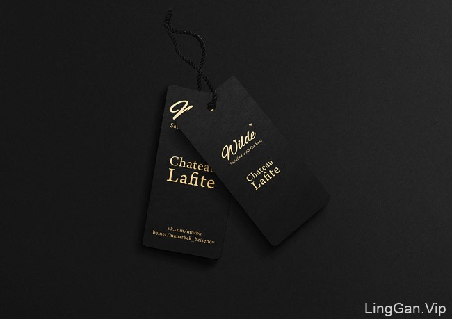 国外欧美风格的Wilde红酒企业品牌形象Vi设计