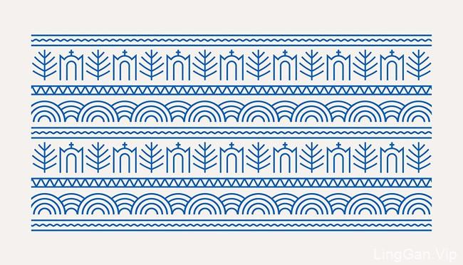 希腊Sifnos岛视视觉识别VI设计竞选获胜方案分享