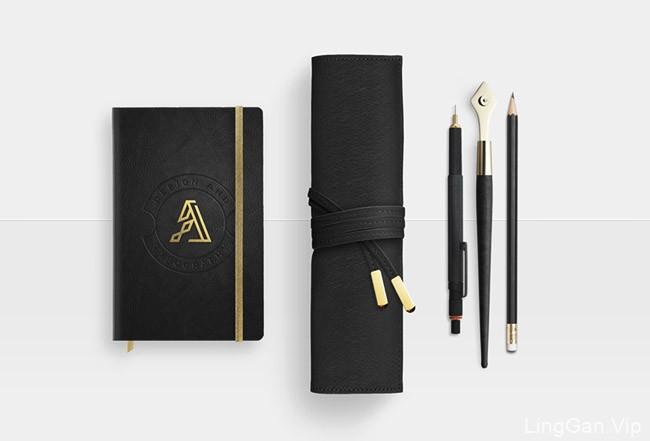 国外优秀设计师AdrianLorga精致大气个人形象VI设计