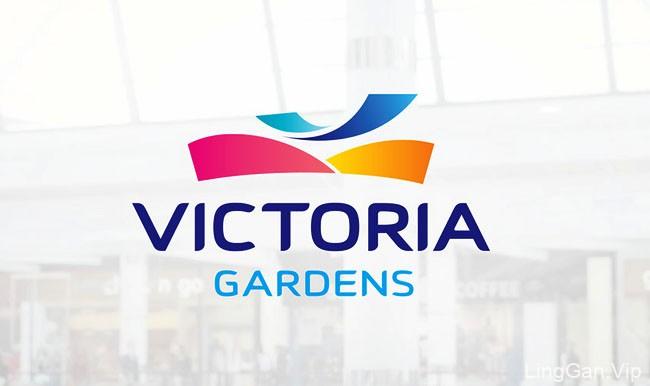 乌克兰时尚的VictoriaGardenss购物中心VI设计