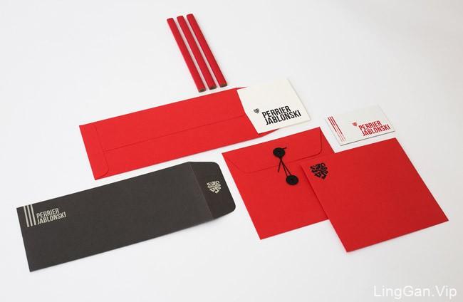 加拿大PerrierJablonski品牌形象VI设计分享