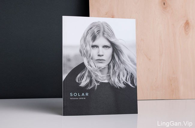 国外服装时尚行业Solar品牌新版形象VI设计