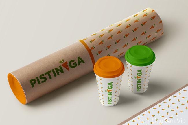 意大利Pistinega果汁吧小清新风格的形象VI设计24P