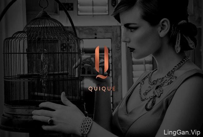 国外时尚潮流业的QUIQUE化妆品品牌形象VI设计