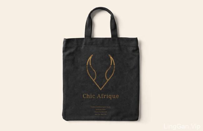 国外ChicAfrique时尚女装网店品牌Vi设计