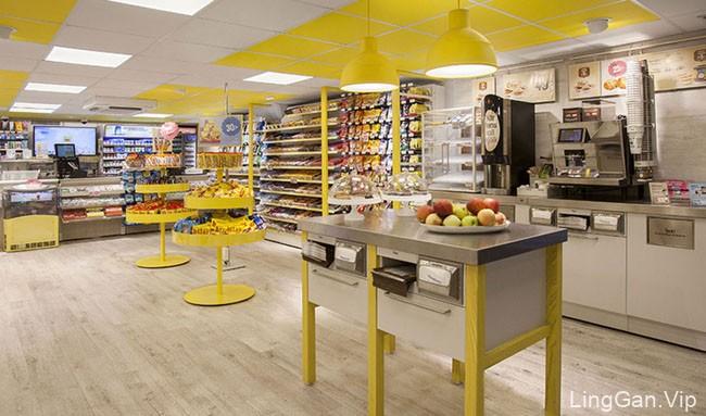 瑞典VI设计-Pressbyran便利店形象设计分享11P