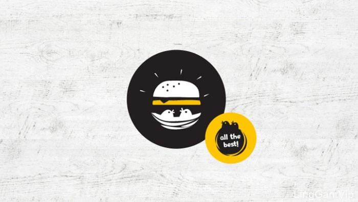 希腊Greece Burger Nest汉堡餐厅VI形象设计