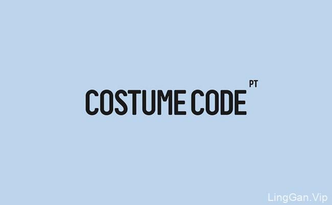 国外VI设计之Costume Code裁缝店VI形象设计分享