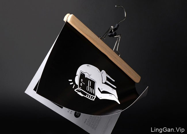 国外VI设计之Little Talk咖啡馆个性品牌形象设计欣