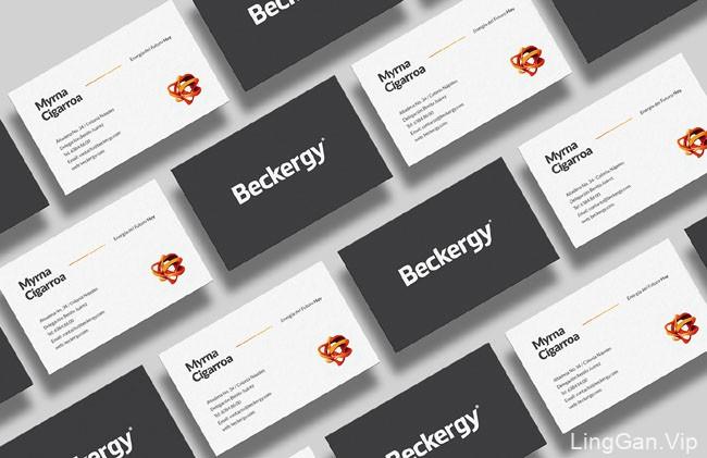 国外VI设计Beckergy太阳能电池板企业形象设计