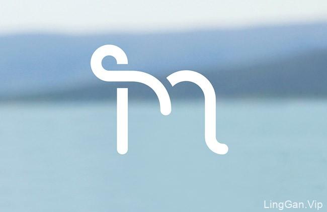 国外Sourcey.M精品店品牌形象vi设计
