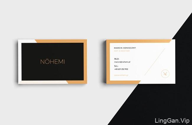 国外Nohemi时装零售品牌VI形象设计