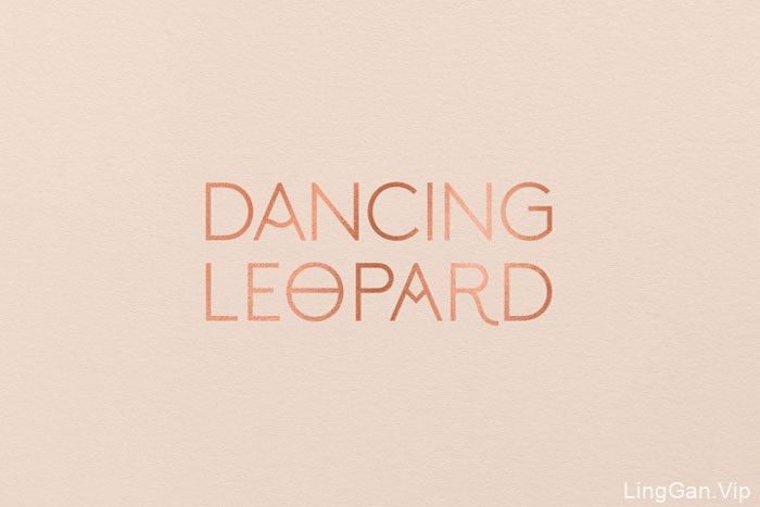 国外精细的Dancing Leopard女装品牌形象VI设计