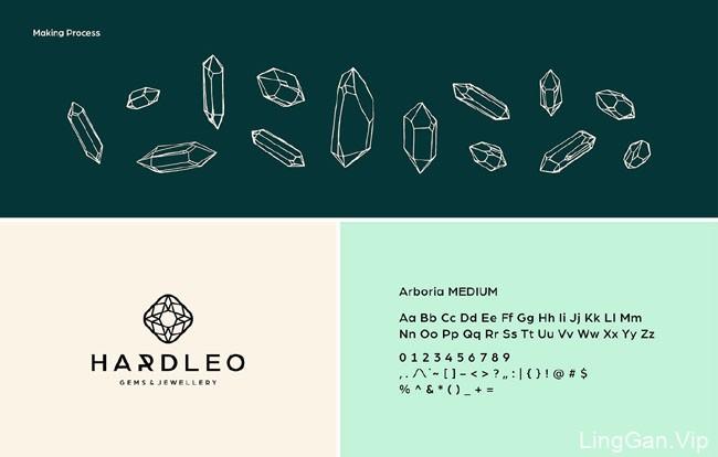 国外Hardleo珠宝品牌VI设计